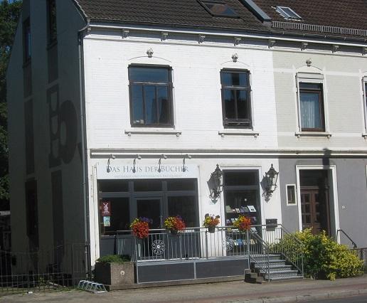 Das Haus der Bücher in Bremen Horn... ehemaliges Antiquariat Plöger